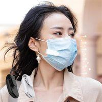 Nuevo diseño Mini máscara ventilador con clips portátil USB Tipo de carga Linda niña silenciosa ventilador para viajes al aire libre 2021