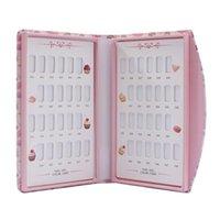 Kits d'art de ongles 48Grids Conseil Couleur Afficher le livre Polish Modèle Polish Card Tool de manucure pour