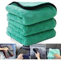 Car Sponge 1200GSM Detailing Wash Microfiber Towel Cleaning Drying Auto Washing Cloth Micro Fiber Rag Accessories 40x40cm