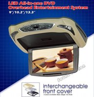 Video Car Plafonnier DVD 9 pouces Flip Down Monitor Automotivo Sur-tête TFT LCD Coach Coach Camion AD Toit Montage du toit