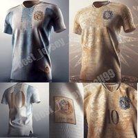 2021 Argentina Conceito Jersey Jersey Maradona Distintivo Elementos Dourado Messi Independência 200 Anos Futebol Camisa