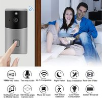 Video Doorbell Wifi Smart Home Tuya App Phone Call Audio Intercom Wireless Door Bell Camera Two Way IP Cameras