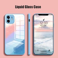 Cell Phone Cases vidro caso do telefone for apple iphone 11 12 x xs xr pro max pára-choques