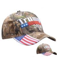 Hotsale Caps !!! 위장 자수 트럼프 2024 아메리카 훌륭한 DonaleTrump 야구 첨단 모자 성인 스포츠 모자