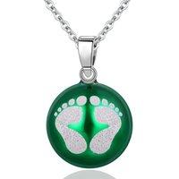 Hängsmycke Halsband Eudora Koppar 20mm Harmony Bola Ball Necklace Chime För Kvinnor Mode Smycken Gåva Mexikansk Graviditet N14NB224