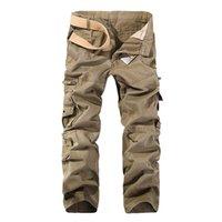 Misniki Automne Hommes Cargo Casual Pantalon Tactique Pantalon tactique 28-40 AXP138