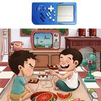 Jouets Enfants Classic Tetris Handheld LCD Jeu Electronic Fun Brique Console de Riddle Jouet pour les joueurs portables pour bébés enfants