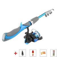 Boat Fishing Rods Rod And Reel Pole Ice Tackle Mini Combination Suit Spinning Jigging Pesca Superhard FRP Slow