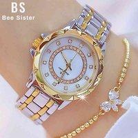 Designer Watch Brand Orologi orologi di lusso 1 strass elegante signore orologio oro polso per le donne relogio feminino 2020
