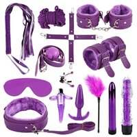 SM Bondage Toys For Two Bdsm Gear Rope Handcuffs Chains Swing Butt Plug Eye-masks Tapes Sexual Fetish Adult 0929