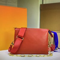 557523luxury women shoulder bag designer crossbody bags embossed leather clutch pillow handbag chain baguette underarm