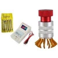 Kit set di riparazione di 5pcs orologio con 6 pezzi Cacciavite di precisione 2 Quartz Analyzer Detector Battery e impulsi Tester Tools Kit