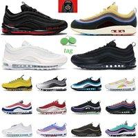 air max 97 airmax 97s Laufschuhe Herren Damen Sean Wotherspoon triple schwarz weiß USA Bred Jesus Herren Sneaker Outdoor-Sportsneaker
