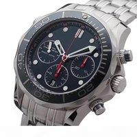 Bon marché chronomètre chronomètre hommes montres de luxe calendrier quartz calendrier montre-bracelet en acier inoxydable métier business hommes regardent gros