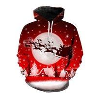 Men's Hoodies & Sweatshirts Hoodie 3D Printing Christmas Series Autumn Sweatshirt Loose Oversized Hip Hop Unisex Streetwear S-6XL