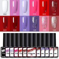 10 12 Pcs Nail Polish Gel Set Varnishes Semi-Permanant Base Top For Nails UV LED Lamp Kits Manicure Art1