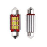 2x Coche Superbright LED Feston Constant Corriente Bulbs C5W C10W CANBUS Sin Error AUTO INTERIOR LED Luces de señal blanca 12V DIODE