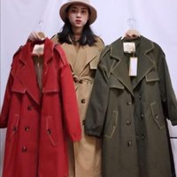 Factory Made Windbreaker Women's European Version Multi Color Thin Down Jacket White Duck Lining 95 Trench Coats