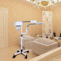 2 in 1 5x Büyüteç Yüz Vapur Lambası Sıcak Ozon Güzellik Makinesi Spa Salon ABD