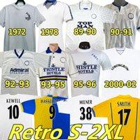Hasselbaink Leeds Retro Soccer Jerseys United 1972 78 95 96 97 98 99 00 01 02 Классическая древняя футболка Smith Kewell Hobkin Batty Miller Viduka Vintage Jersey