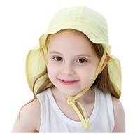 Sombrero niño sombrilla sólido niños nadar gorra bebé sol playa protección sombreros para niñas niños verano al aire libre 2021 gorras