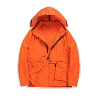 Topstoney 2020 Konng Gonng Nova Primavera e Outono Personalizado Jaqueta Função Windbreaker Moda destacável no casaco de jaqueta curto