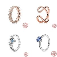 Cluster ringen authentiek 925 sterling zilveren prinses tiara kroon sprankelende liefde hart cz voor vrouwen engagement sieraden jubileum geschenken