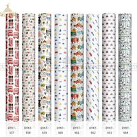 """Window Stickers Lucky Goddness Sublimation Transfer Paper 12 Pcs 12x12"""" Cartoon Infusible Ink Cricut Joy Suitable For T-shirt Wholesale"""