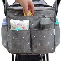 حروف حفاضات أكياس حفاضة للأطفال موم حقيبة الأزياء الأمومة حقيبة عربة حقيبة متعددة الوظائف الحفاض حقيبة لميمياء 1525 Y2