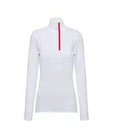 Femmes Sweaters Laine Outwears Tops Sweatshirts pour Lady Silm Trains T-shirts Longues Manches Hautes Cou Sweet Sweater avec des lettres Couture à broderie Zippers Ajuster les chemises