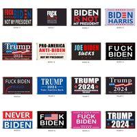 Trump Biden is niet mijn president 90 * 150 cm Amerikaanse presidentsverkiezing Vlag Polyester Pongee Materiaal Trump vlaggen Banners 19 Stijl