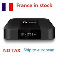 Ship from france 10pcs lot TX3 Mini Android 8.1 TV Box Amlogic S905W Quad Core 2GB 16GB 2.4G Wifi Set Top