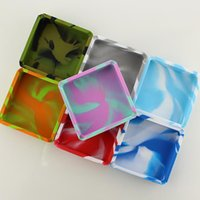10 cm silicone Tobacco Ashtray bag solid color camouflage colors can be customized vs rolling tray grinder