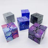 Popular Nuevo Fidget Fidgin Infinity Cube Toy Second Generación Juguetes descomprimidos Venta caliente Galaxy Mini Cubo infinito
