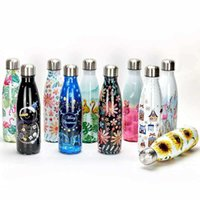Creative Thermos Flask Stainless Steel Water Bottle Leakproof Gym Sport Drink Bottle For Water Cool Insulated Cup Mug 210610