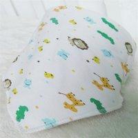 Candy Cloud Pattern Baby Bibs Multi Design Fibbia Triangolo Bambini Saliva Asciugamano Asciugamano Burp Droo Drooli Allattamento Doppio Snap Turban 1 15mq L2