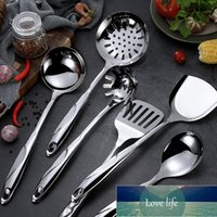 Cooking Utensils Stainless Steel Tools Set Spatula Heat-resistant Handle Soup Spoon Non-stick Special Shovel Turner Kitchen Tool