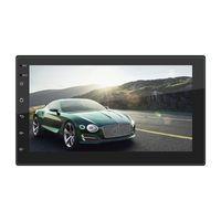 오디오 시스템 Apple Carplay Android 자동 자동차 DVD 플레이어가있는 Rearview 카메라 - 더블 딘 7 인치 LCD 터치 스크린
