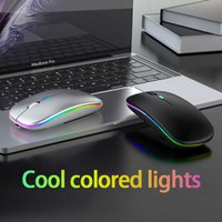 Bluetooth Mouse Wireless Mouse Silent Rechargeable Laser Computer Mouse Thin PC Office Mause For Apple Mac Microsoft Y0703