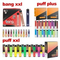 Hohe Qualität!!! Puff Bar Puff XXL Puff Plus Bang XXL XXTRA 2000Pappen Zigaretten Einweg-Vape-Stift-Gerät Pod Xtra-Verdampfer Vapes Kit Großhandel Lager in den USA !!!