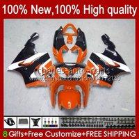Bodys Kit For KAWASAKI NINJA ZX-7R ZX750 ZX 7R 96 97 98 99 00 01 02 03 Bodywork 28HC.92 orange black ZX-750 ZX 7 R ZX 750 ZX7R 1996 1997 1998 1999 2000 2001 2002 2003 Fairings