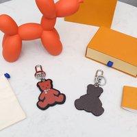 Moda Keychain Chave Buckle Carta Animal De Animais Couro Chaveiros Homens Mulheres Saco Pingente Acessórios13 Opção Top Quality