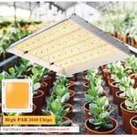 Planche d'aluminium quantique de croissance 300W 600W 1000W 1500W avec réflecteur 3000k 5000k Mélange 660nm Lampe de plantation intérieure
