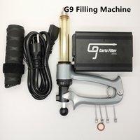 Machine de remplissage d'huile G9 chariots Machine de remplissage semi automatique d'injection de remplissage pour 0.5ml 0.8ml 1 ml d'épaisseur de vape d'épaisseur avec aiguille de verrouillage Luer