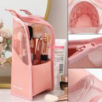 Storage Boxes & Bins Cosmetic Tool Bag Makeup Brush Finishing Bucket Tube Lipstick Eyebrow Pencil Highlight Stick Portable GHS99