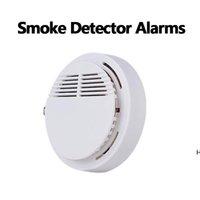 Detector Alarmas Sistema Sensor Fuego Detectores inalámbricos separados Detectores de Inicio Sensibilidad Alta Sensibilidad Estable LED 85dB 9V Batería HWD6642