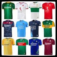 20-21 GAA Kerry Tyrone Mayo Jerseys Cork Meath Galway Dublin Ath Cliath Gaillimh Tipperary Ciobubraio Arann Rugby Camisas