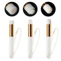 Escovas de maquiagem 15 pcs nariz profundo escova limpa face nasal poro limpeza cravo removedor ferramenta com cordão)