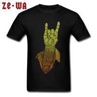 CCCCSPORTHIP HOP PUNK ROCK ROLL NOTH T-shirt Mens New Tees Plus Taille Rock Jazz NightClub Tshirt Crêle Col Col T-shirts 2018 Nouveau Tee