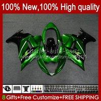 Körper für Suzuki Katana GSXF650 GSXF-650 GSX650F 2009 2010 2011 2012 2013 2014 grüne Fabrikkörper 18HC.71 GSX-650F GSX 650F GSXF 650 08 09 10 11 12 13 14 Verkleidungsset